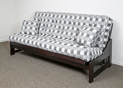 Memory Foam Replacement Futon Mattress Upholstery Cover With 2 Matching Pillows Choose Your Fabric Made In