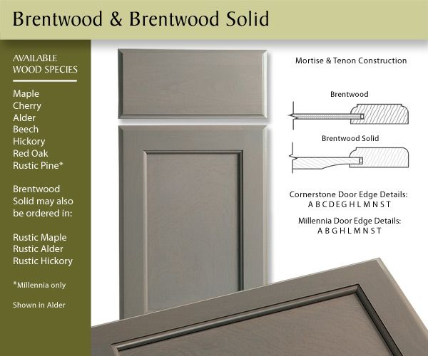 Canyon Creek Cabinets Brentwood Door Style  sc 1 st  Pinterest & Canyon Creek Cabinets Brentwood Door Style | Oktay finishes ...