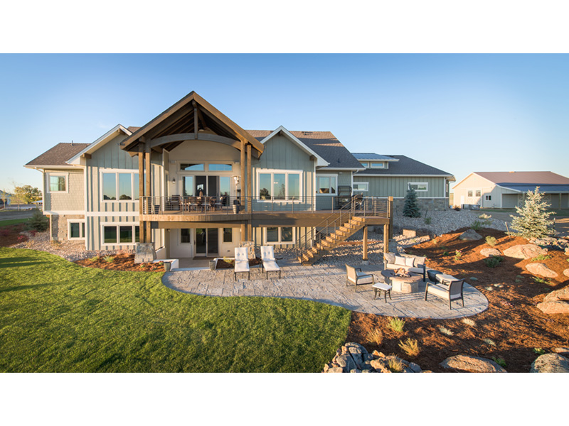 Well Planned Outdoor Living Spaces Luxury House Plans Rustic House Plans Craftsman House