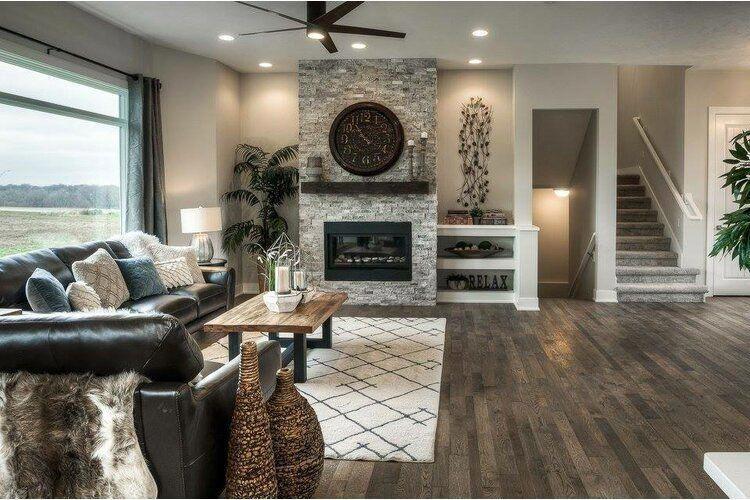 Modern Farmhouse Fireplace Shelf Mantel