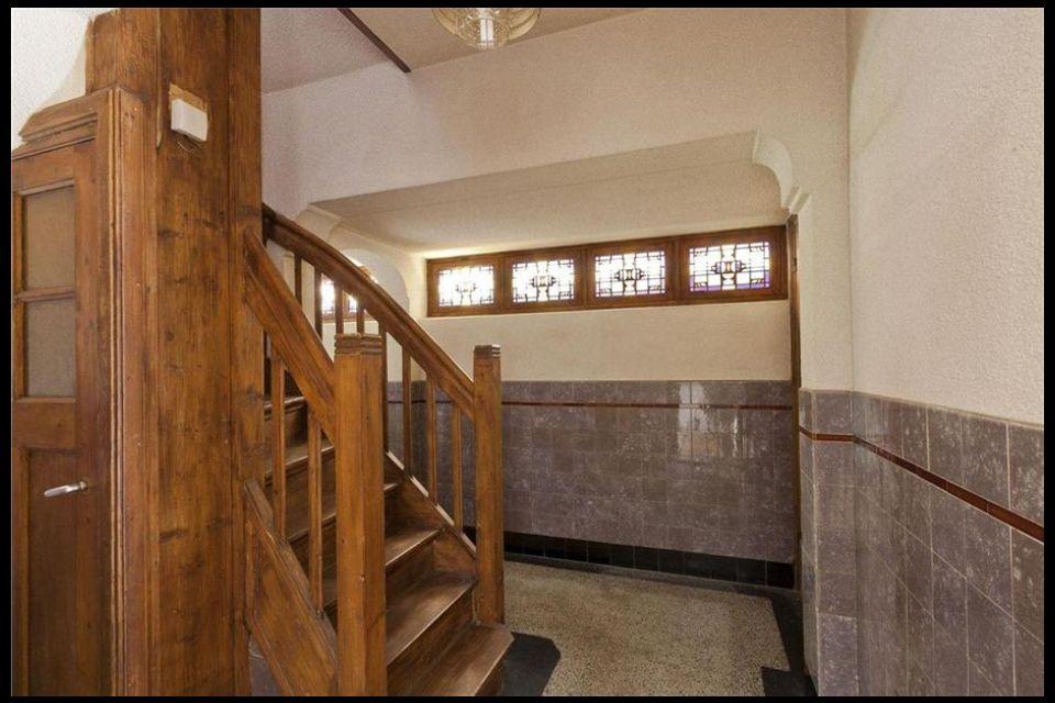 Hal en gang met tegels lambrisering jaren 39 30 hal en gang jaren 30 pinterest - Deco gang huis ...
