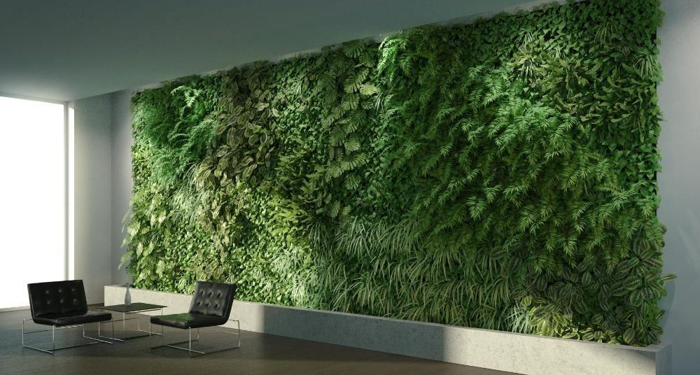 Creating A Green Wall Skatter Vray Sketchup Green