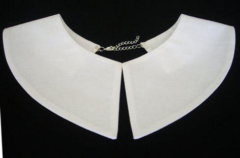 White collar, Wednesday Addams collar , Detachable collar, Madonna - madonna halloween costume ideas