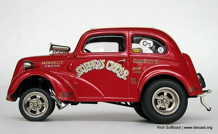 2 1948 Anglia Skipper S Critter Drag Car Diecast Zone