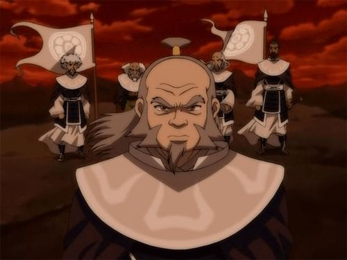 Iroh And The Order Of The White Lotus Iroh Avatar Aang Avatar