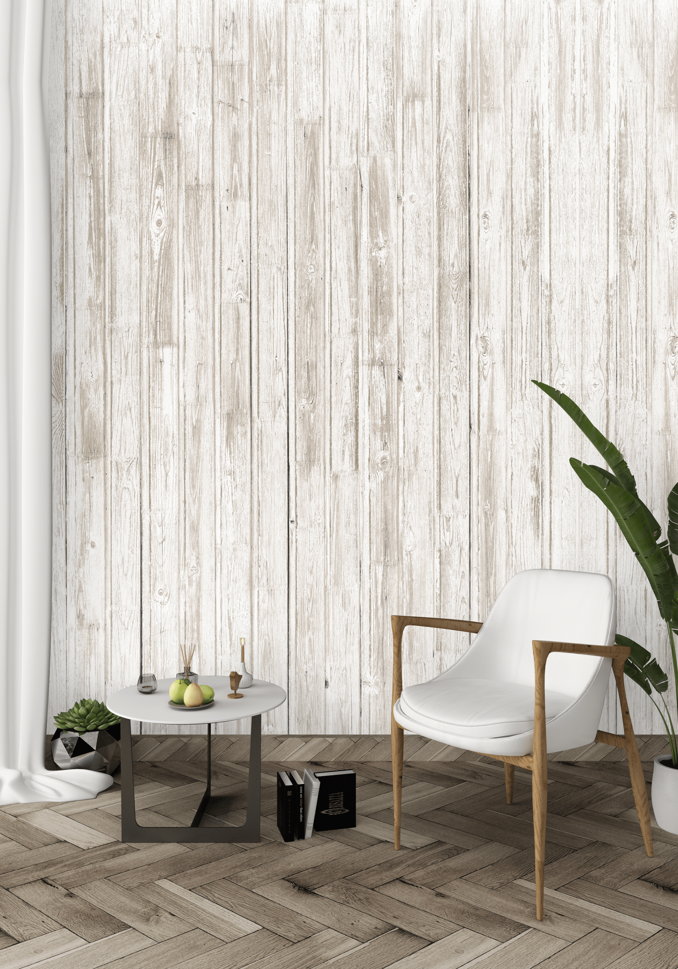 papier peint bois blanc papier peint