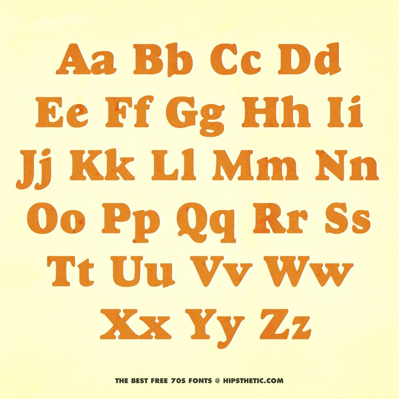 The 12+ Best Free 70s Fonts Free 70s fonts, Bold fonts