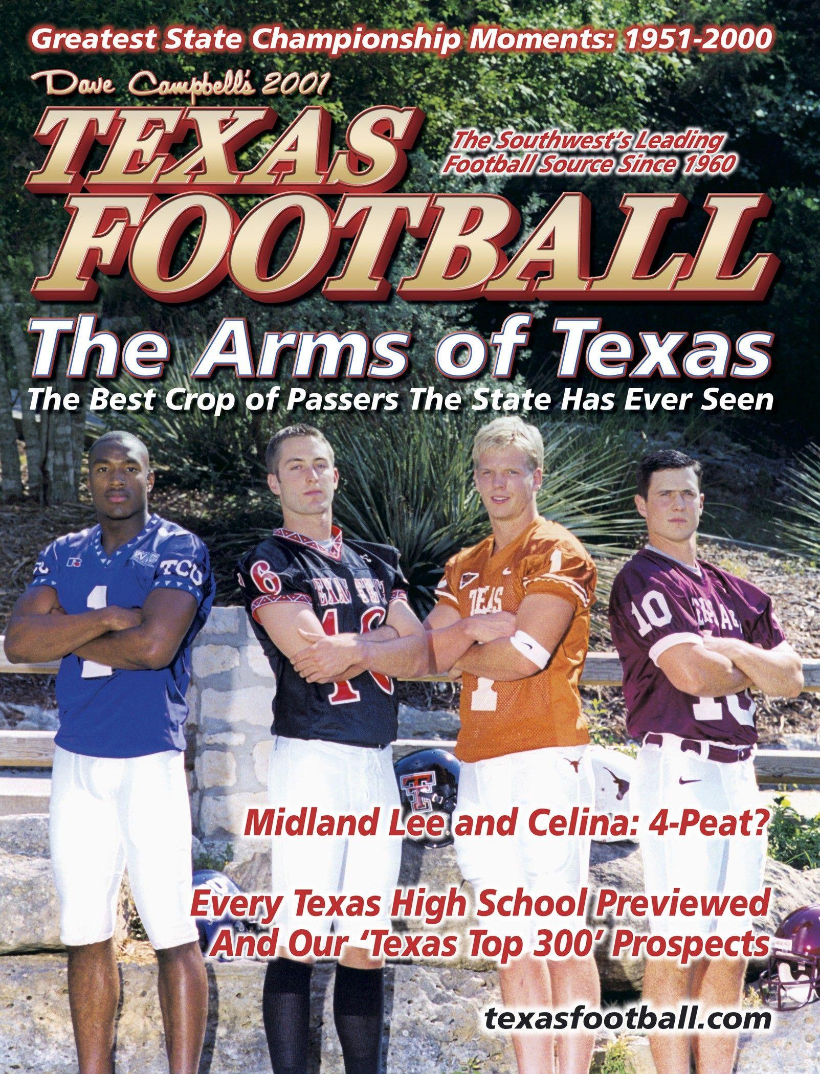 Dave campbells texas football 2001 summer edition