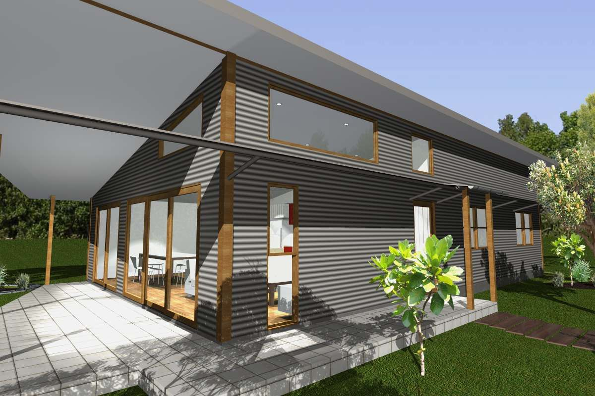 Exterior delightful modern home interior decoration for Modern house cladding