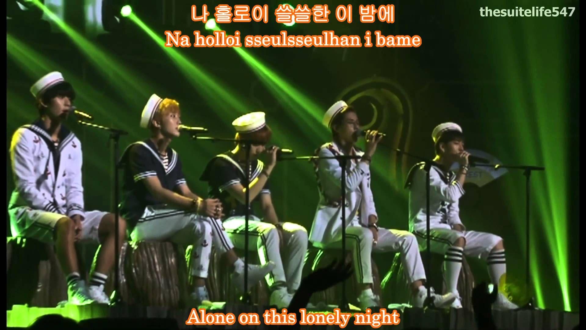 B1A4 - Wonderful Tonight (Unplugged) [Amazing Store in Seoul] {Hangul, R...