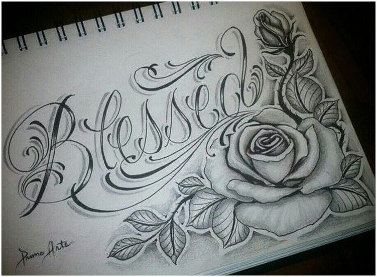 Tattoosleeve Armsleevetattoo In Love With This Gonna Finish My Sleeve With This Click For Info Blessed Tattoos Tattoo Lettering Tattoo Designs