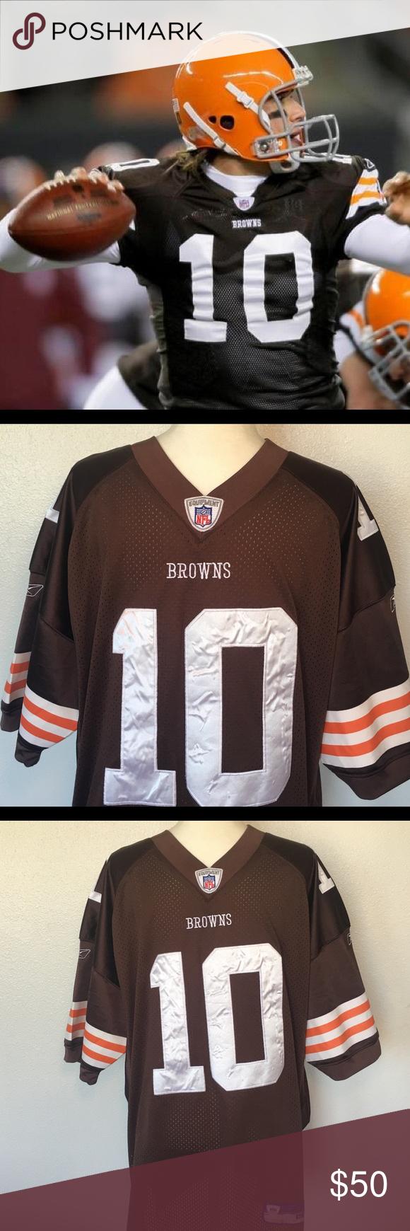 new arrive 06502 0980e BRADY QUINN #10 Onfield Authentic NFL Jersey Reebok NFL ...