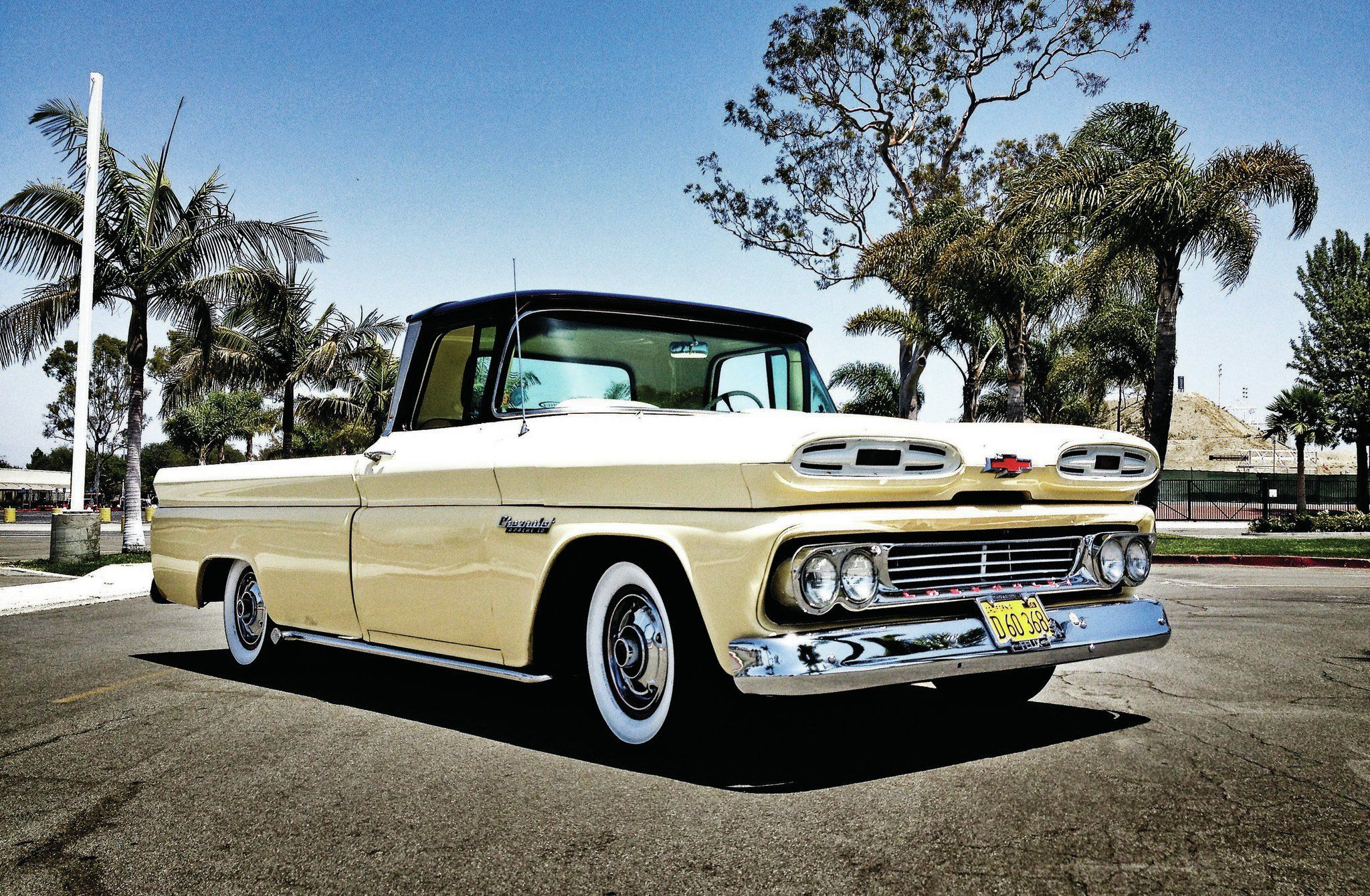 Check out this month\'s Lowrider Truck of the Month, a 1960 Chevrolet ...