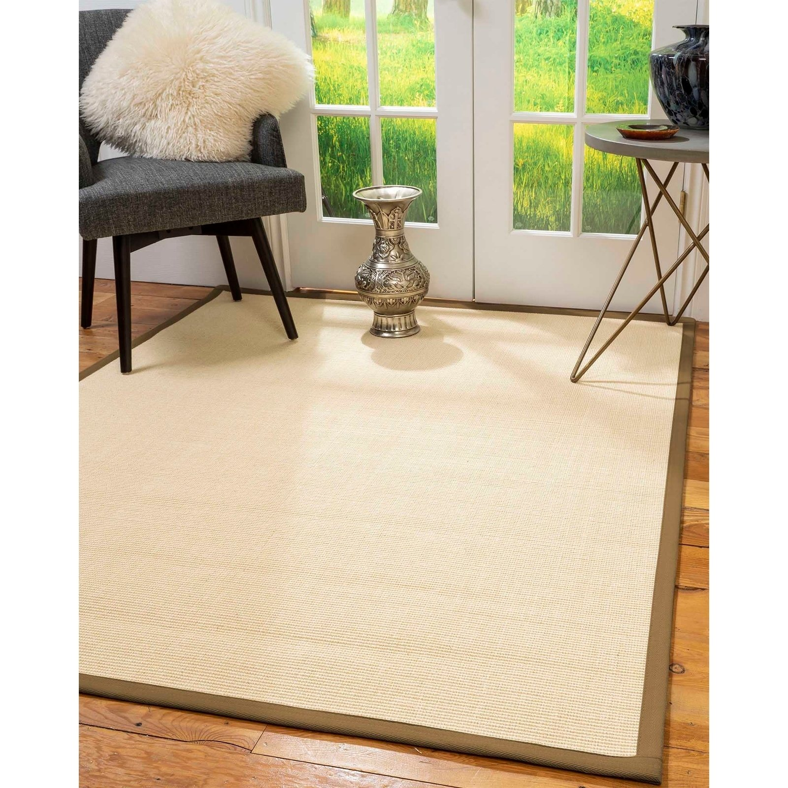 Natural Area Rugs 100 Natural Fiber Handmade Deco Cream Sisal