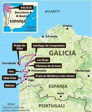 Tuntematon Galicia On Kappale Kauneinta Espanjaa Matkailu