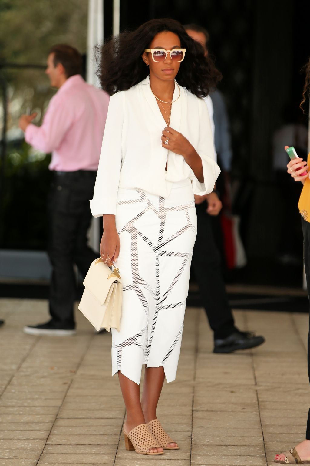 Love It Florida Style: ART BASEL: Solange In All White, Cassie & Diddy Coupled Up