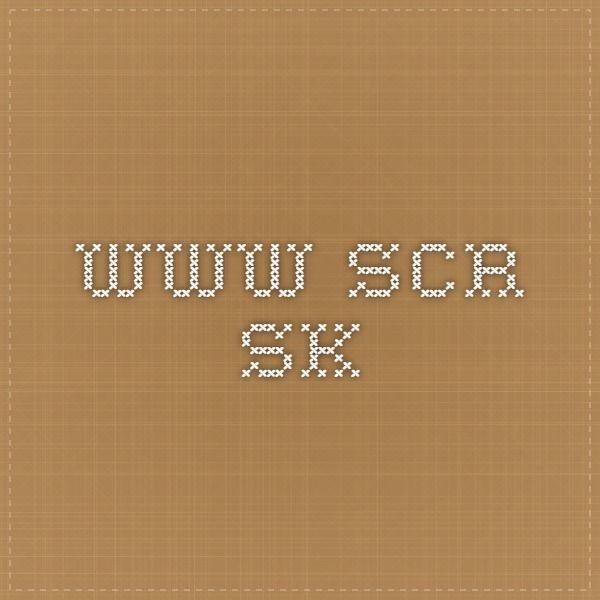 www.scr.sk
