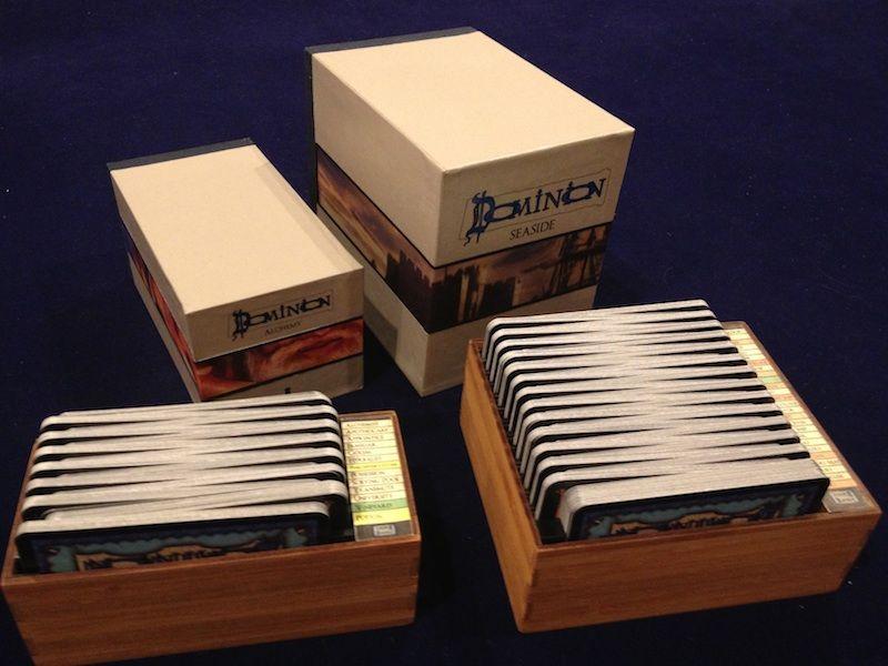 Dominion Card Storage Cases 2 0 Dominion Board Game Organization Board Game Box Board Games Diy