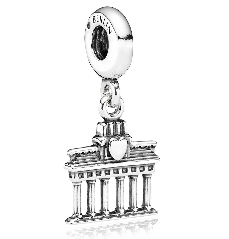 Silber Element Brandenburger Tor 791081 Pandora Travel Charms Pandora Silver Pandora Travel