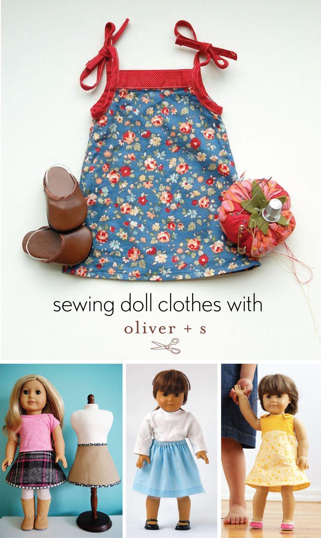 sewing for dolls | Puppen und Nähen