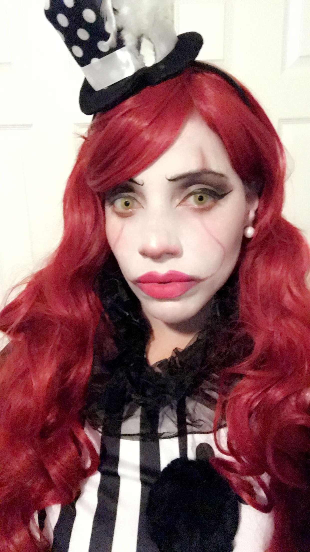 clown clowngirl it killerclown pennywise Face