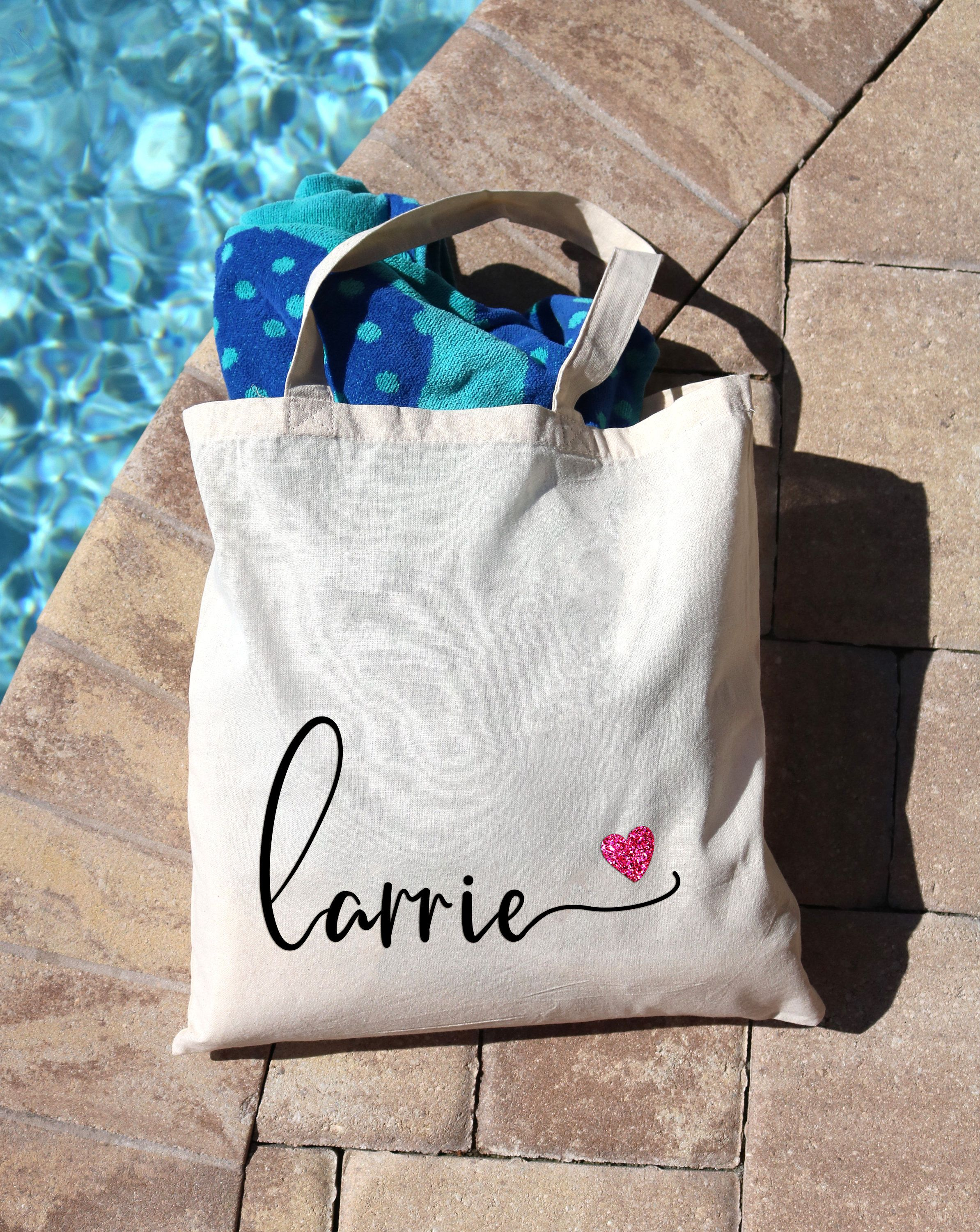 Personalized Canvas Tote Bag Wedding