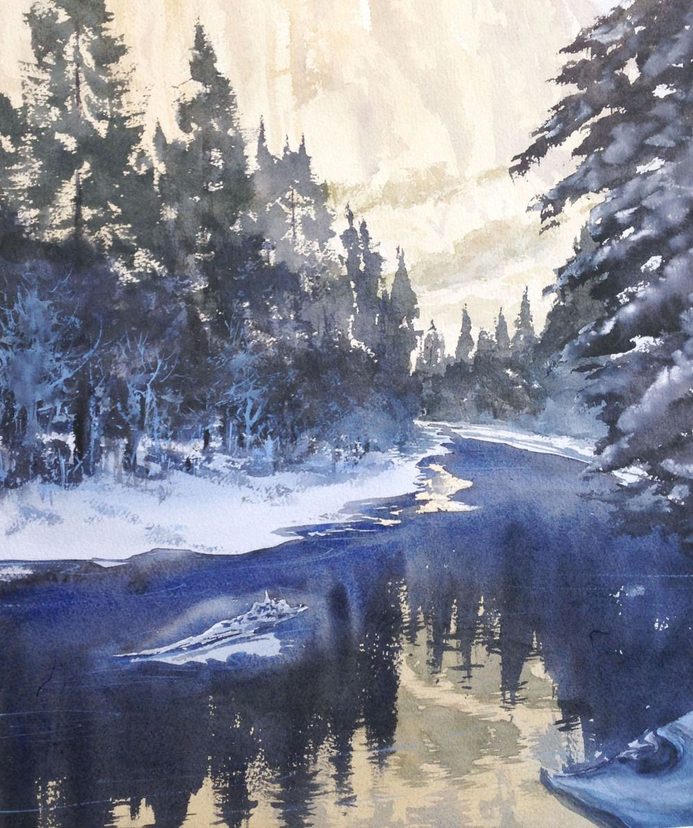 Inky River Shadows