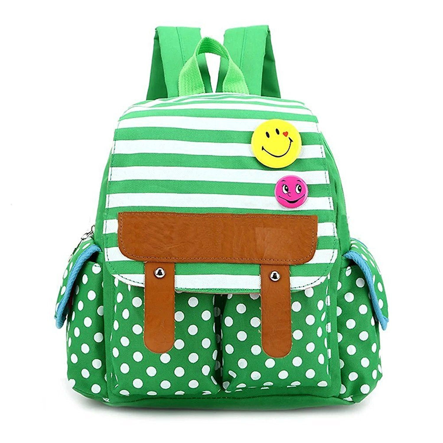 skyflying dot cute kids backpack stripe boys girls school bag baby