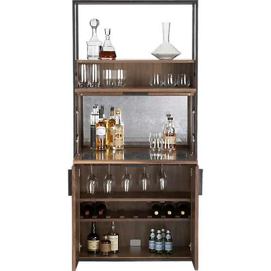 Clive Bar Cabinet In Dining Kitchen Storage Crate And Barrel