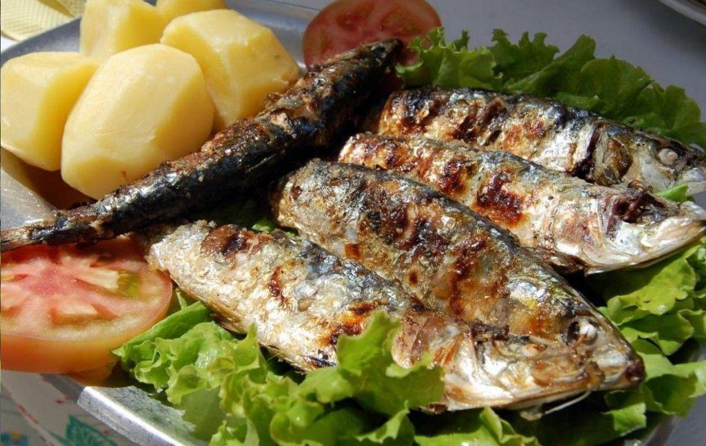 Sardinhas Assadas no Iguaria Receita e Dica de Culinária