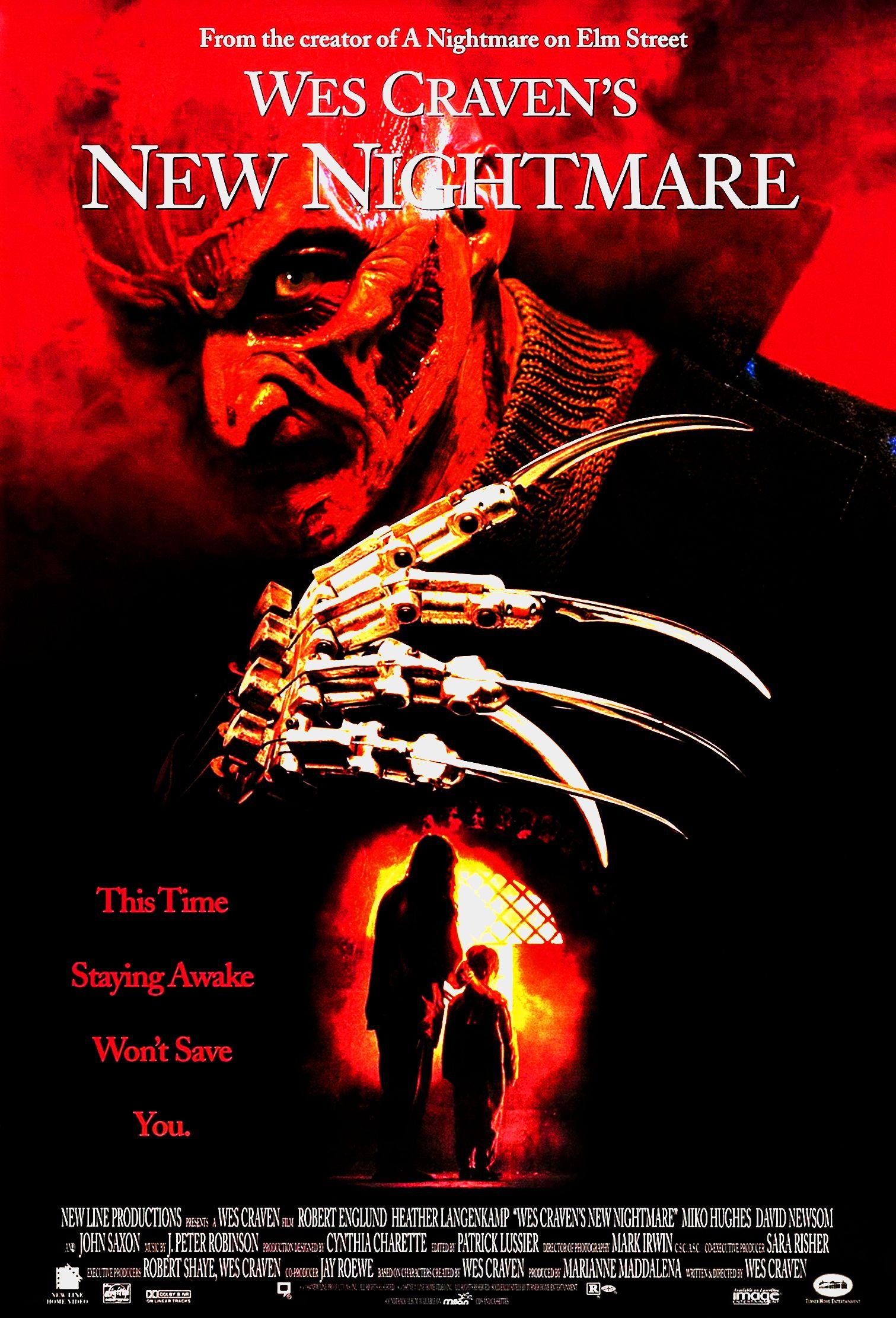 Poster Do Filme O Novo Pesadelo O Retorno De Freddykrueger