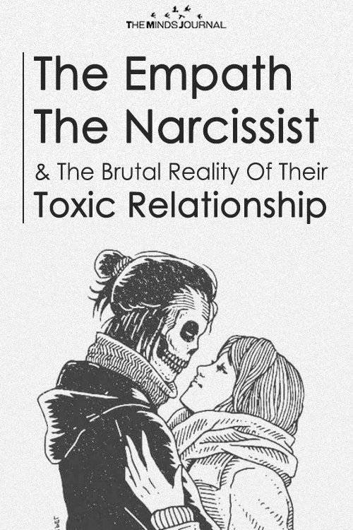 The Empath and The Narcissist: The Brutal Reality Of Their Toxic Relationship