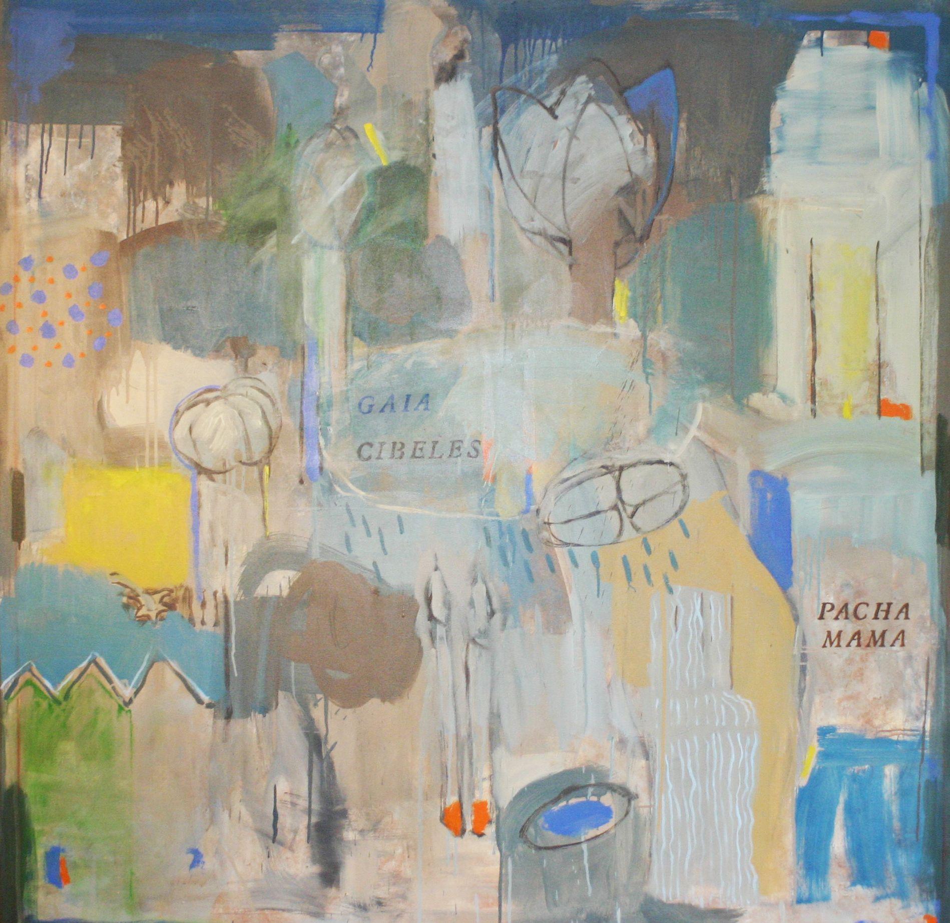 """Ramiro Pareja Herrera """"Segunda Lectura"""" en La Galería. 2015 Gaia /Cibeles- La Pacha Mama"""