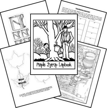 Maple Syrup Lapbook (can be used with a number of children