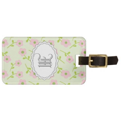 Customize Monogram Luggage Tag Template Gift Ideas Pinterest - luggage tag template