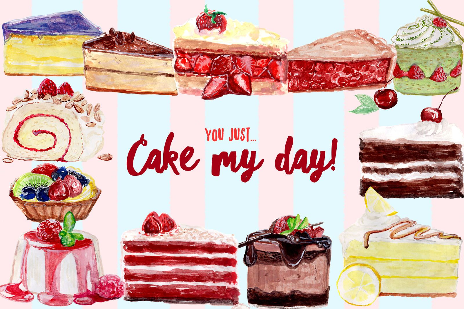 free watercolor cake cliparts volumes cifsdata2 mom design freebies free design resources fdr cake my day free watercolor clipart [ 1600 x 1067 Pixel ]