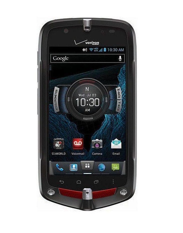 Casio Commando Verizon Rugged Touchscreen Mobile Phone This