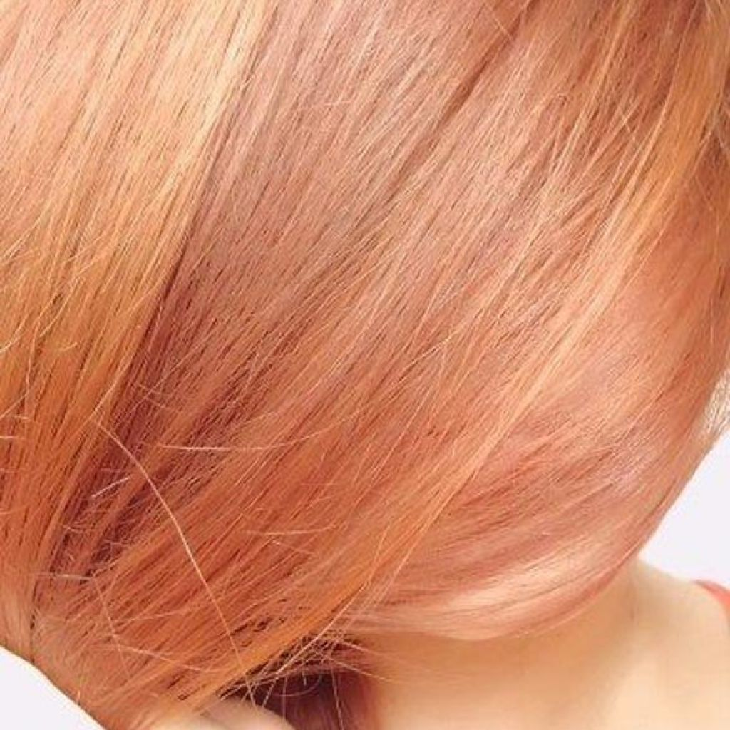 Light Strawberry Blonde Hair Color Chart