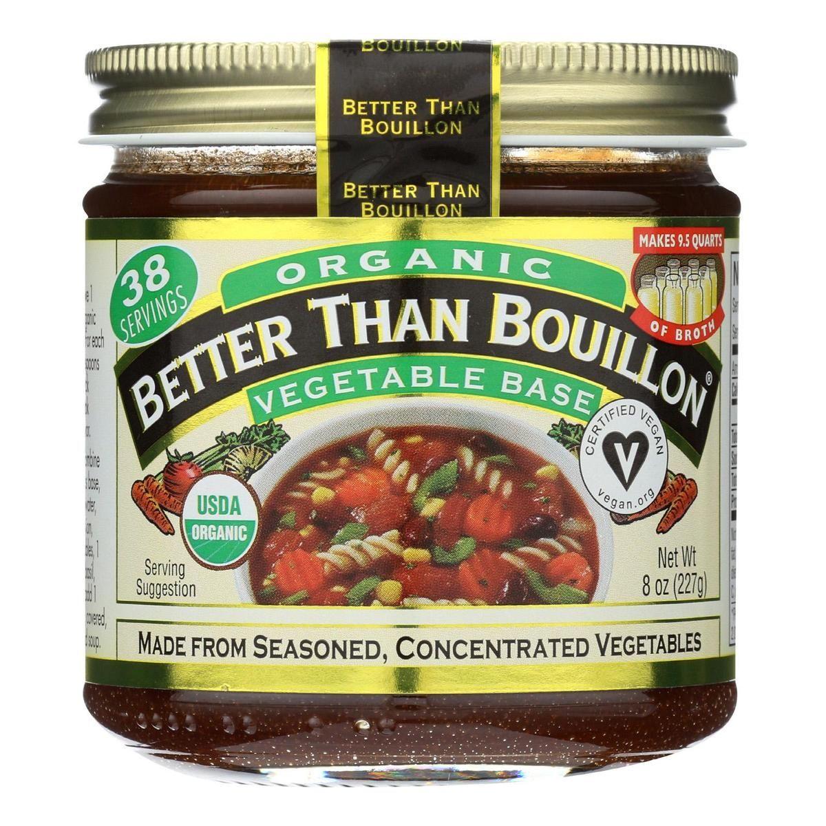 Better Than Bouillon Organic Seasoned Vegetable Base