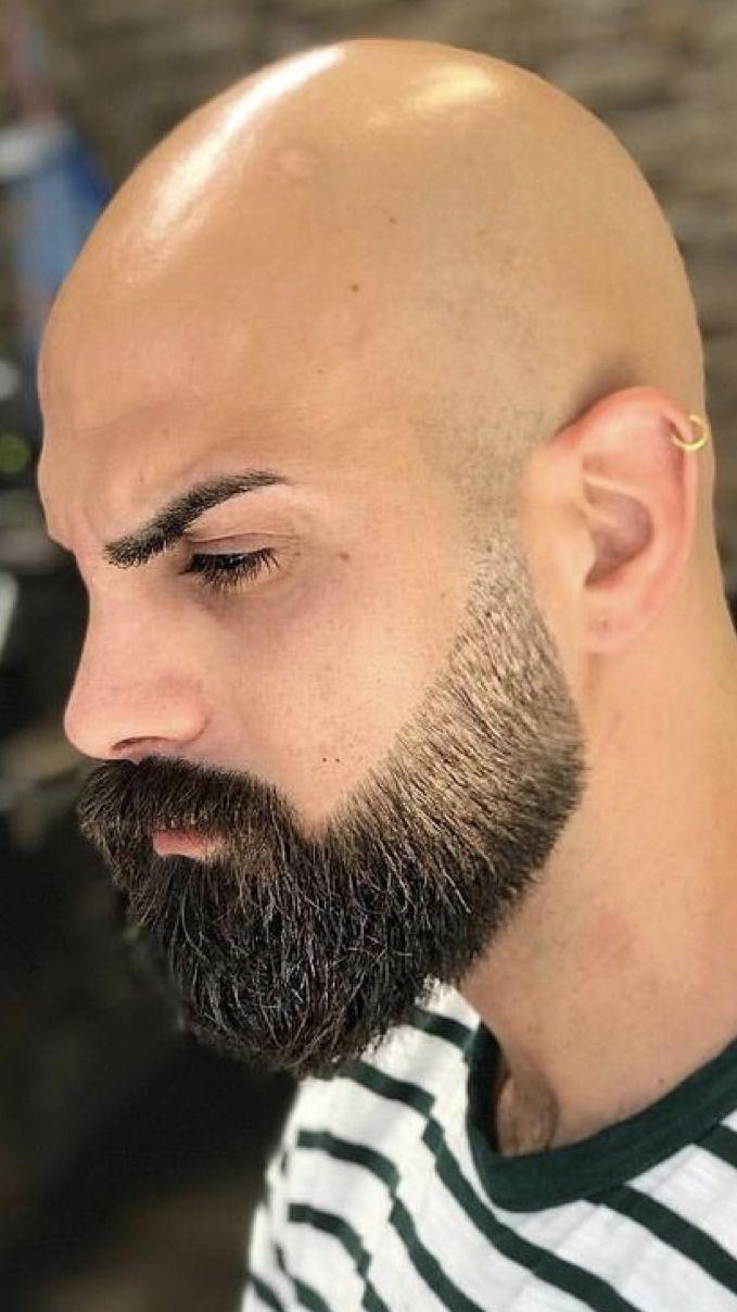 Awesome Beard Bald Head With Beard Beard Styles Bald Bald Men With Beards