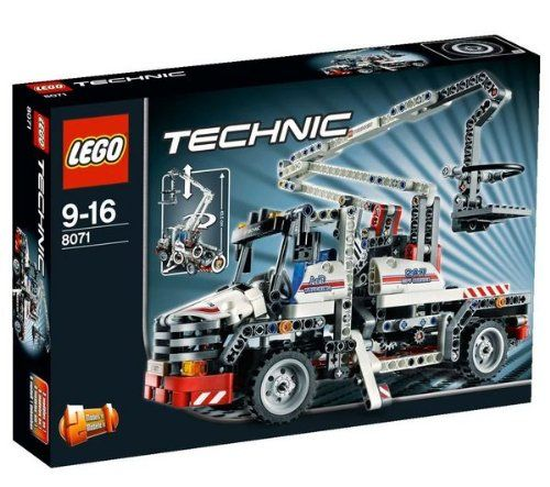 Amazon.com: LEGO Technic Bucket Truck 8071: Toys & Games | lego ...