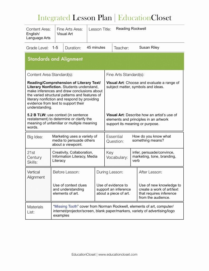 cooperative learning lesson plan template inspirational
