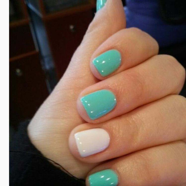 Simple Cute Natural Summer Nail Color Designs 2019 Koees Blog Shellac Nail Designs Summer Nails Colors Designs Nails