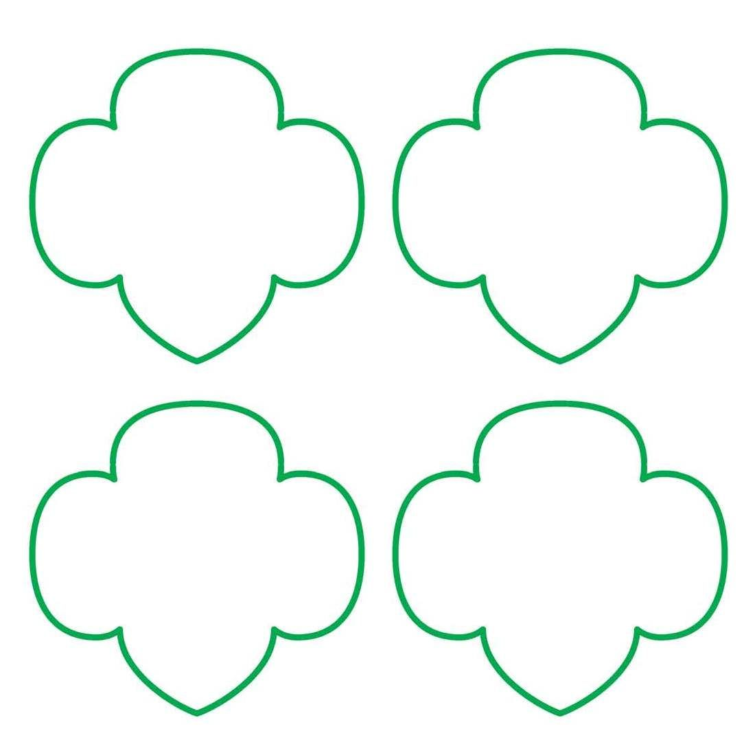 This is a graphic of Tactueux Girl Scout Templates Free