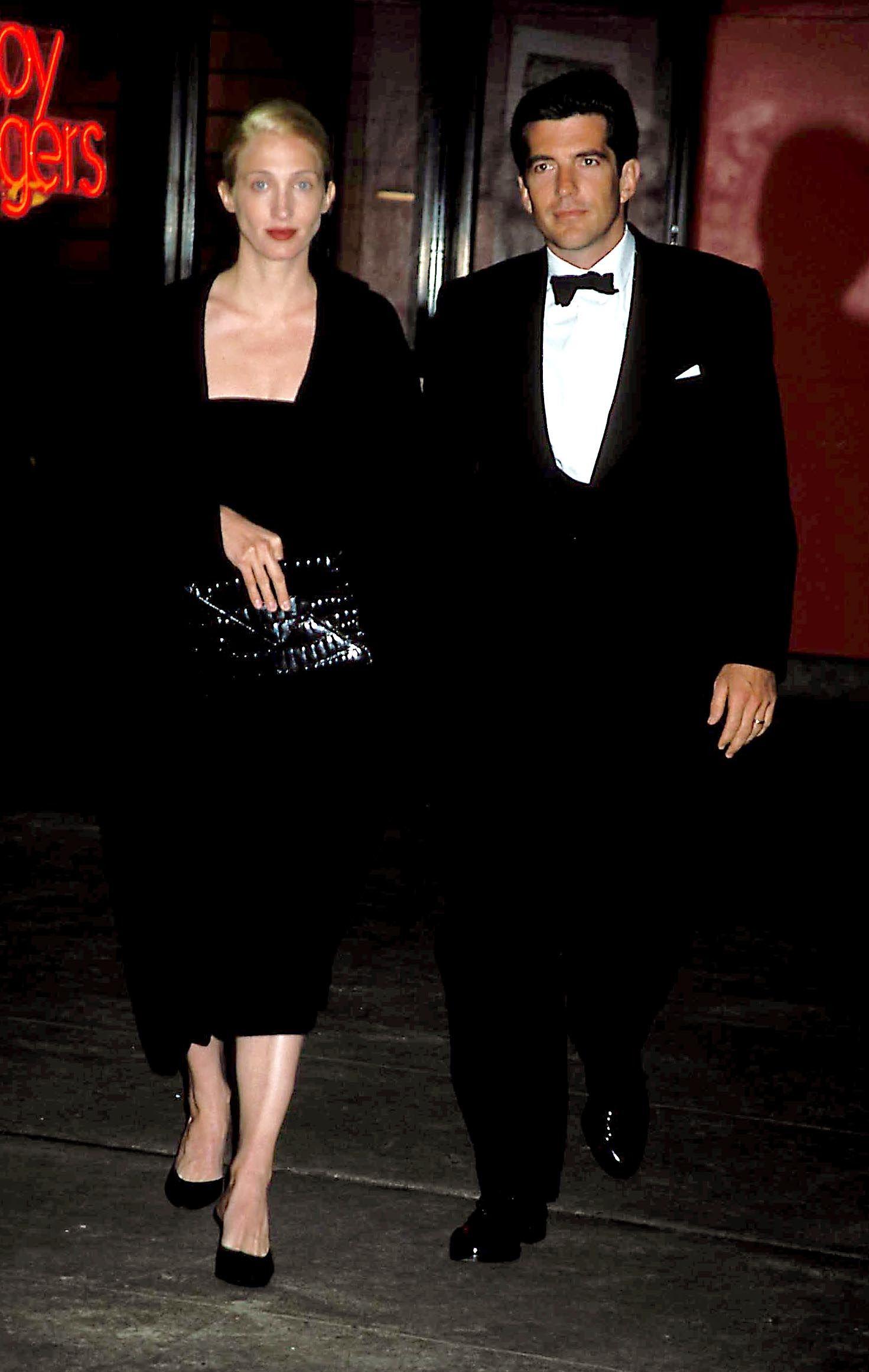 April 6, 1998 – Municipal Art Society Chairman's Evening John Kennedy Jrcarolyn  Bessette