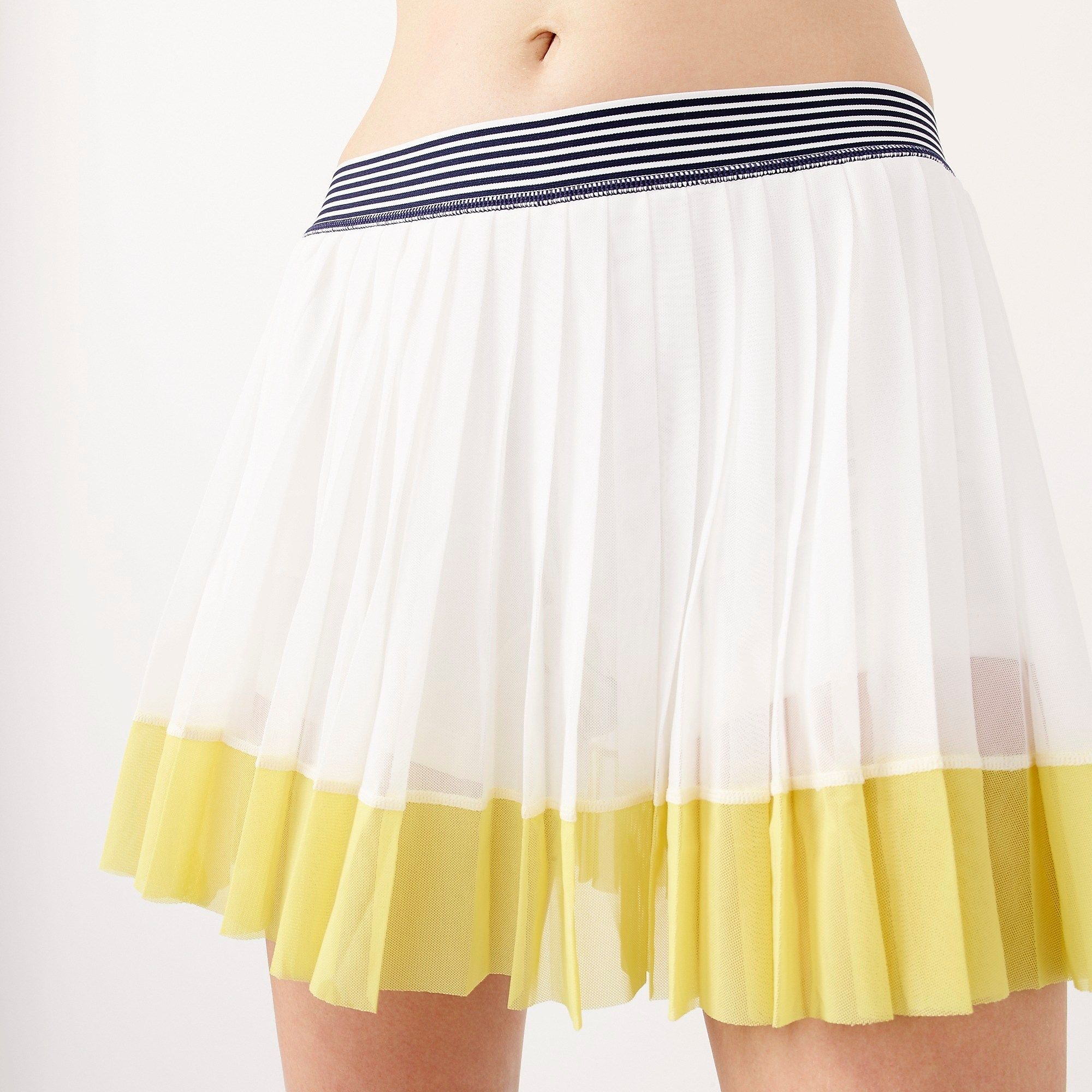 New Balance For J Crew Tennis Skirt In Colorblock