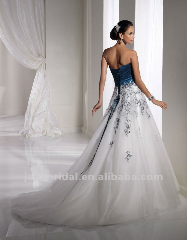 White and teal corset back wedding dresses really like for White corset wedding dress