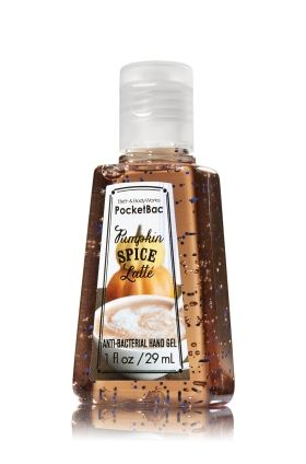 Pumpkin Spice Latte Pocketbac Sanitizing Hand Gel Soap Sanitizer