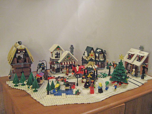 Lego Winter Village Display 1 Lego Christmas Village Lego Winter Village Lego Winter