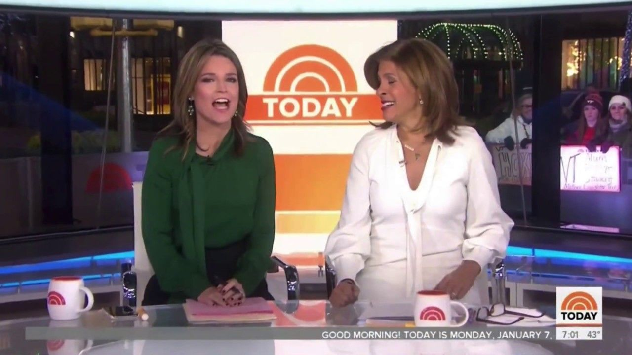 """NBC News """"Today"""" Show New Graphics 2019 News today"""